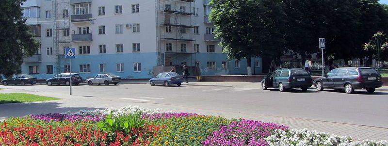Улица Красноармейская в Гомеле