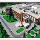 Проект областной детской больницы на 700 коек, которая разместится на Солнечной