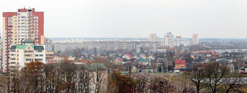 Вид на микрорайон «Клёнковский»
