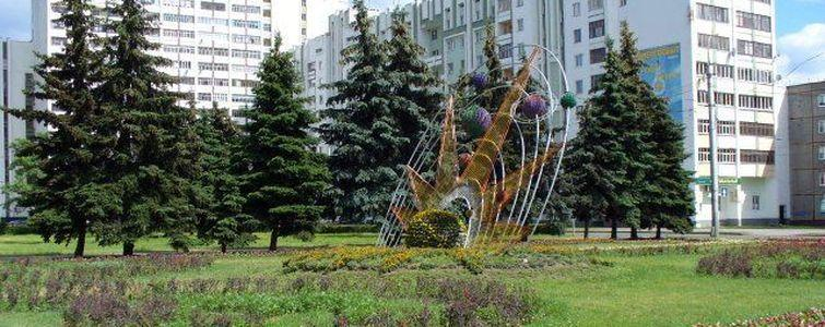 Скульптура «Солнечная система»