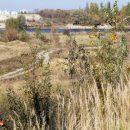 Здесь должен быть построен мост Восточного обхода. Но проект оказался слишком дорогим. Фото Яўгена Якавенкі, kli4nik.info
