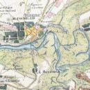 Володькино озеро на карте 1838 года.