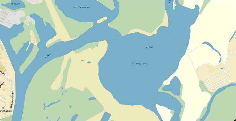 volodkino-ozero-map