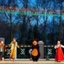 В Гомеле зажгли новогодние огни на главной ёлке