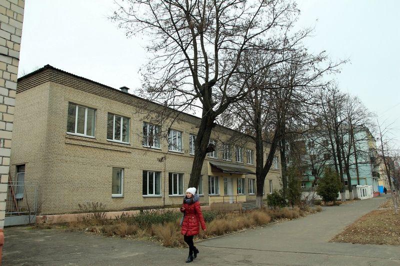 Бывшее здание детской поликлиники на ул. Международная