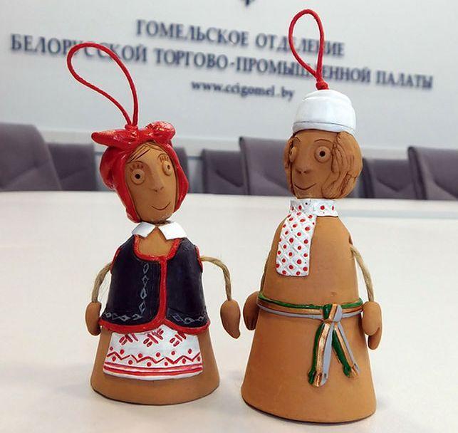 Керамические куклы-колокольчики признаны лучшим коллекционным сувениром Гомельской области
